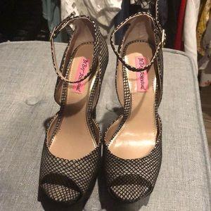 Shoes - Betsey Johnson high heels👠